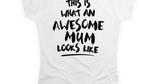 Awesome Mum Looks Like T Shirt #MothersDay