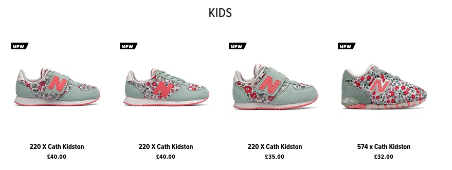 new balance cath kidston trainers