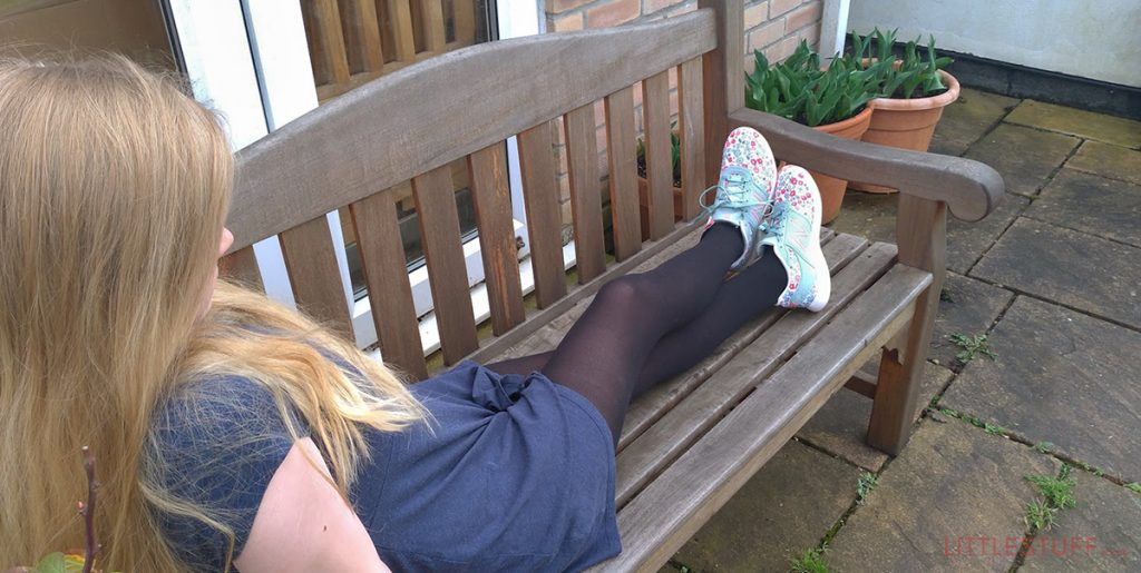 LittleStuff review trainers teenager