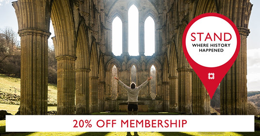 Join English Heritage Today & Save a Massive 20%
