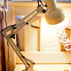 Spotted – Gorgeous Yellow Adjustable Desk Lamp for £16!