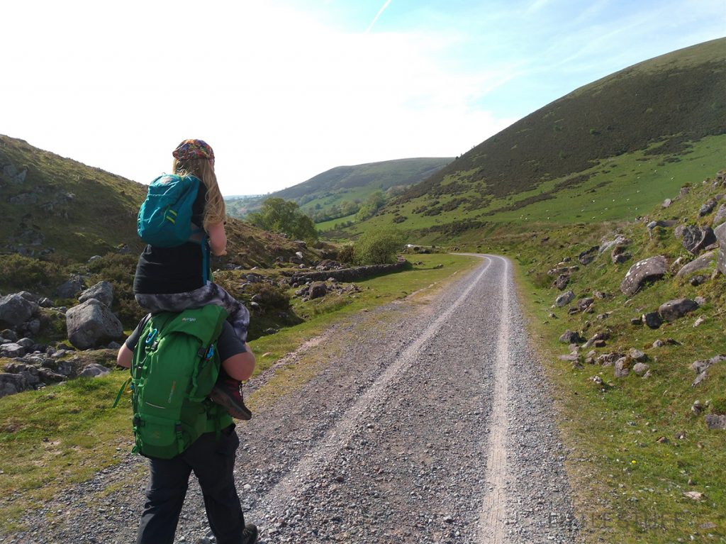 hiking with teens in brecon beacons