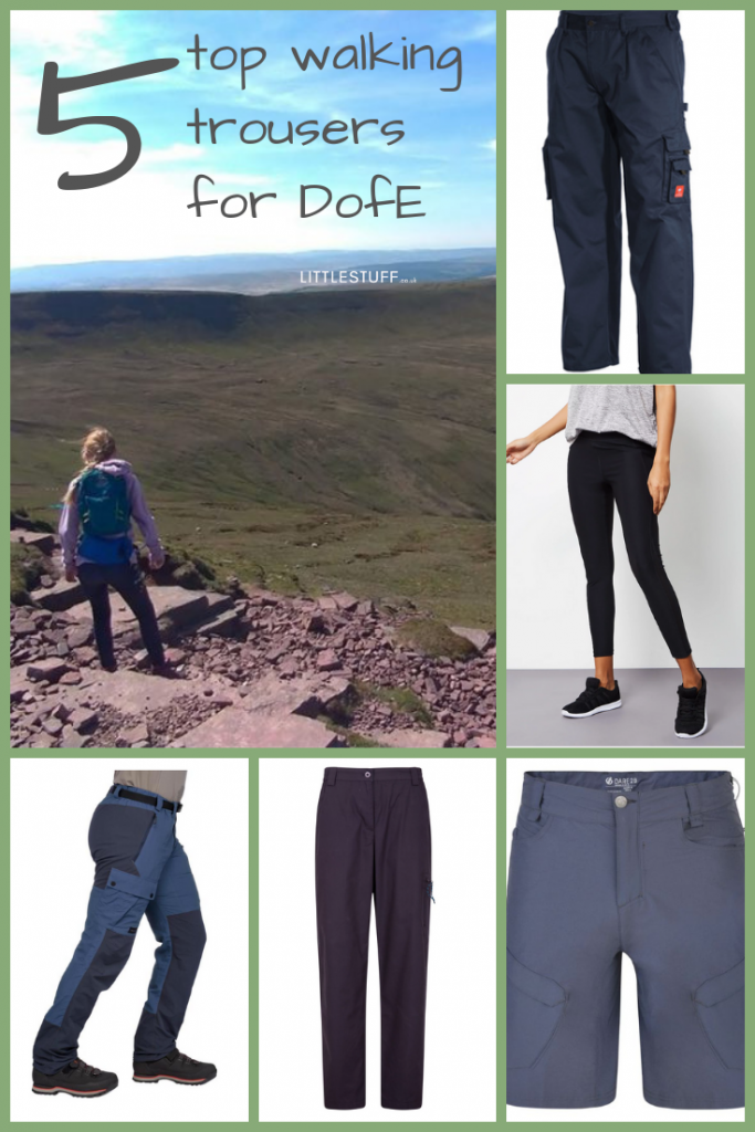 Honestly, I've been bombarded (okay, stop peering over your glasses, I've been asked a handful of times) since I wrote about what you need on the DofE kit list. So as I honestly need no excuse for a little shopping research, I thought I'd start with an easy one - the walking trousers.  And No. NOT jeans. Not now, not ever for hiking. You might think they're tough and practical, but when they get wet they get heavy andthey stay wet. Awful.   First choice is usually sturdy cotton trousers – walking trousers are perfect, oddly enough. Remember if your teen is a cadet, they can walk in their MTPs, they're perfect. Scouts can walk in their uniform trousers too.