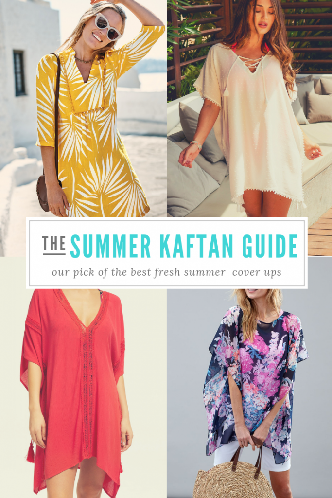 I've done the hunting for you - and here's my top picks for this year's summer kaftans cover up offerings... yes, once again I get to indulge my love of summer kaftans. Just essential holiday wear, aren't they? On holiday we tend not to go far - and we spend most of the day in our swimwear - but I do love to have a cover up to hand for lunch, and for the lovely long evenings (and quick emergency dashes for bread, cheese and wine, obvs!).