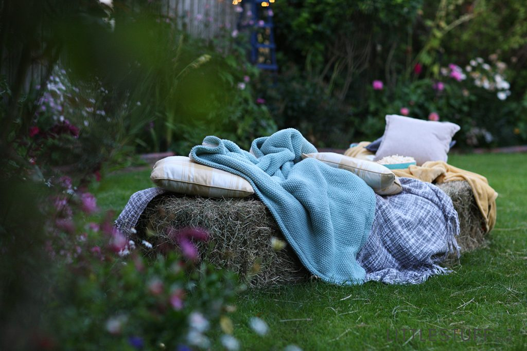 DIY outdoor cinema in your back garden