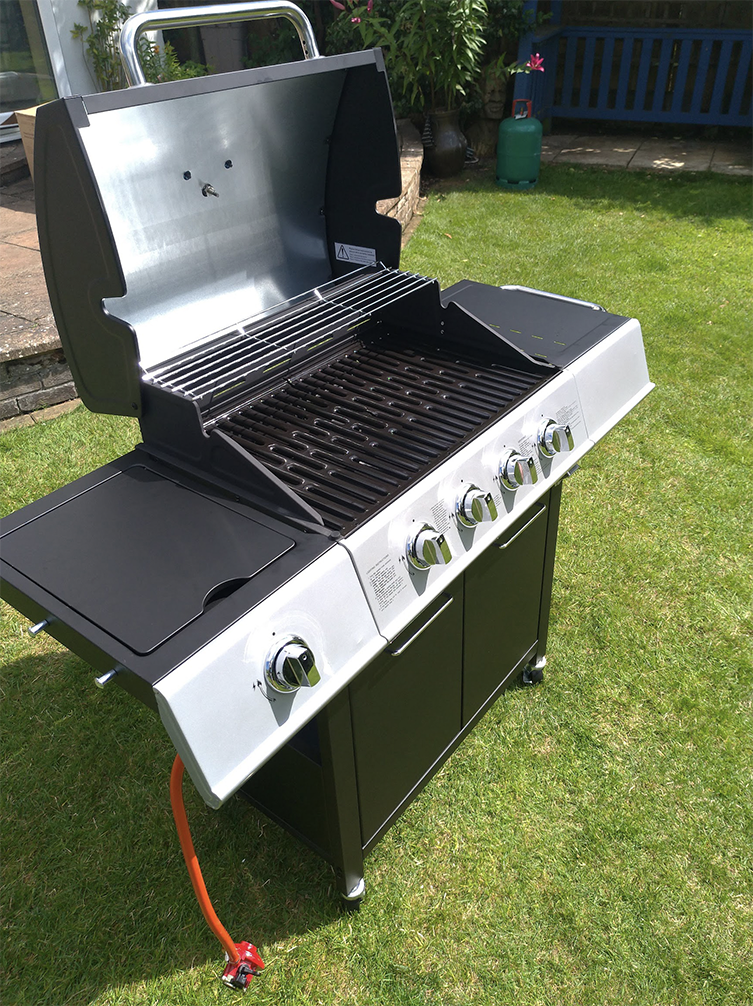 sol72 charles bentley Rappaport 63cm gas barbecue