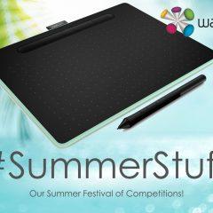 Win a £180 Creative Pen Tablet from Wacom | #SummerStuff