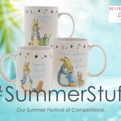 Win 1 of 4 Peter Rabbit Mug Sets! | #SummerStuff