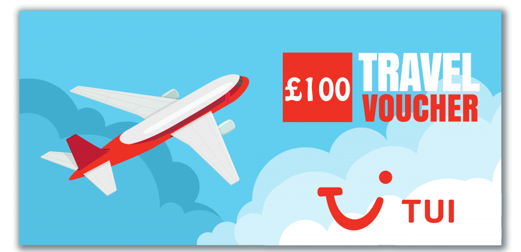 win TUI voucher