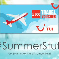 Win a £100 holiday voucher from TUI! | #SummerStuff
