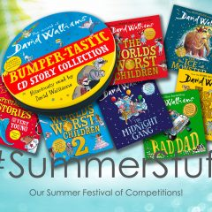 Win a Brilliant Bundle of Walliams Audiobooks, worth £140! | #SummerStuff