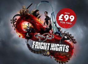 Thorpe Park Fright Nights Cheap Tickets – FLASH SALE!