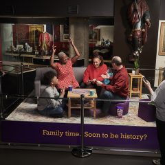 FAMILY TIME IS AT RISK OF BECOMING HISTORY