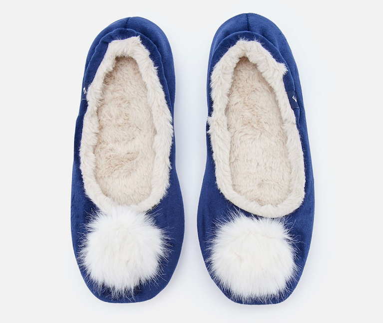 pompom ballet slippers from Joules