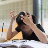How can toxic stress be set aside from 'healthy stress' in schools?