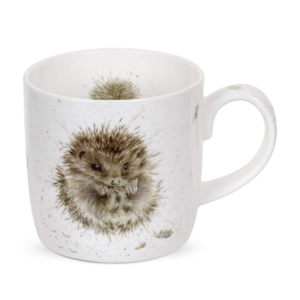 wrendale hedgehog mug
