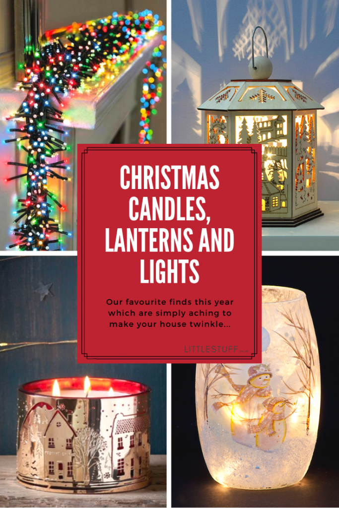 Christmas, above any other time in the year, is the time we love to banish the dark days and chilly nights with twinkly lights, Christmas Candles and gorgeous lanterns. We all have our favourites, and we all have a love of all things twinkly. So we have come up with a list of our favourite Christmas Candles, lanterns and festive lights that we have found this year to help make your Christmas merry and bright.
