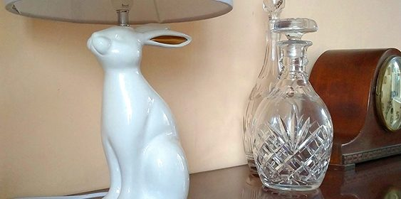 Gorgeous Rabbit Lamp from Fox & Ivy