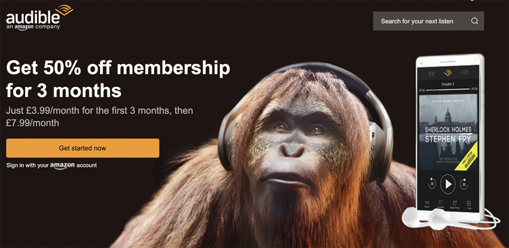 audible latest offer