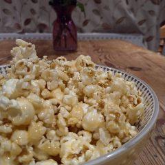 Better-Than-Butterkist Crunchy Butterscotch Popcorn Recipe