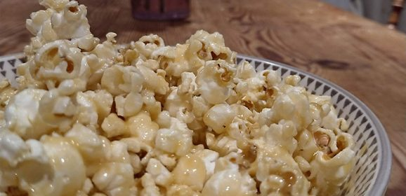 Better-Than-Butterkist Crunchy Butterscotch Popcorn Recipe