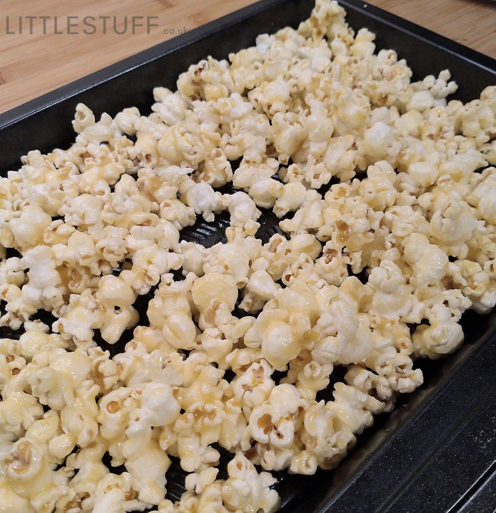 unbaked glazed  popcorn