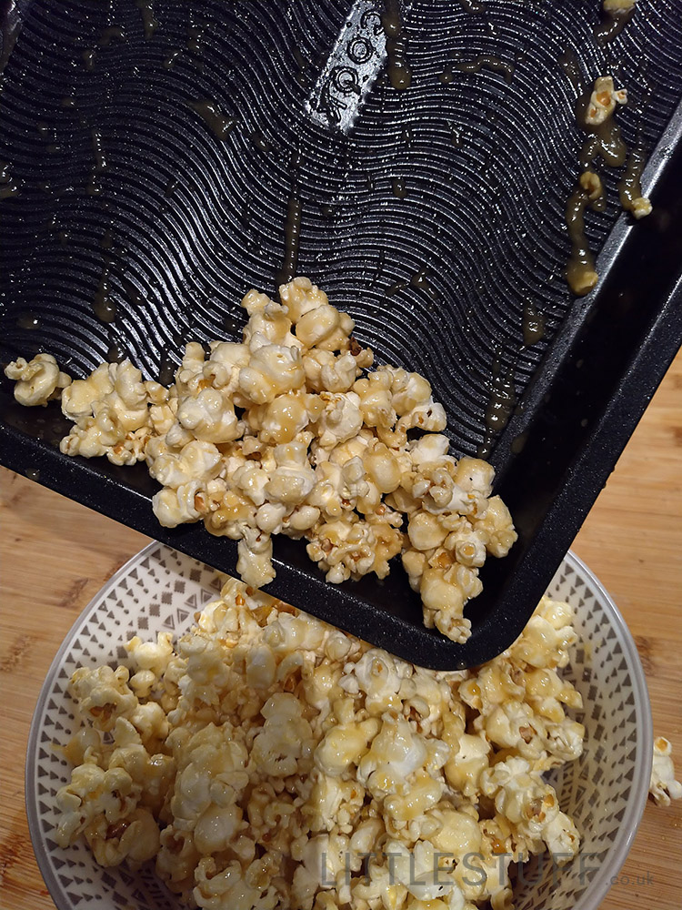 best non stick pan for Crunchy Butterscotch Popcorn