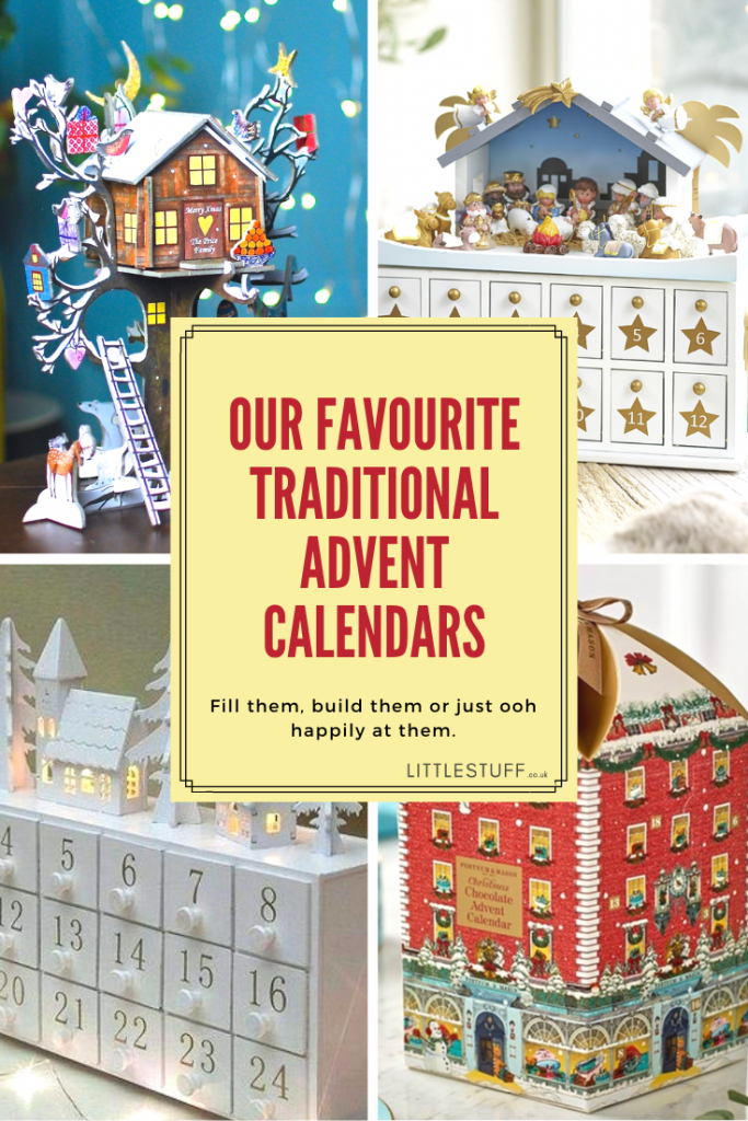 Top traditional advent calendars in the UK