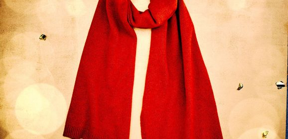 Burnt Orange Cashmere scarf – The perfect Christmas gift
