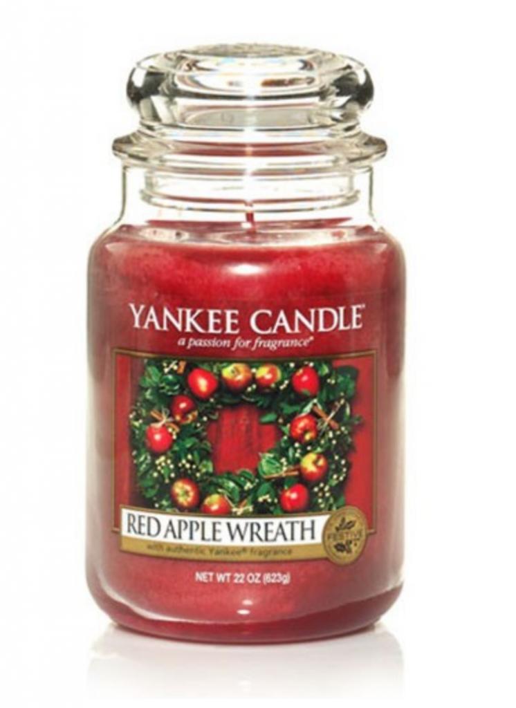 Yankee Candles BOGOF - Yankee Candle Red Apple Wreath Large Jar
