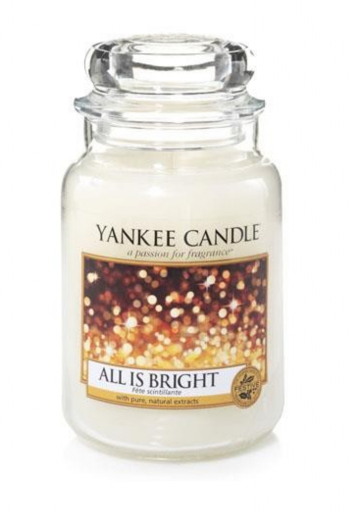 Yankee Candles BOGOF All is Bright Large Jar