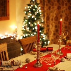 Dress The Christmas Table – with Tesco decs?