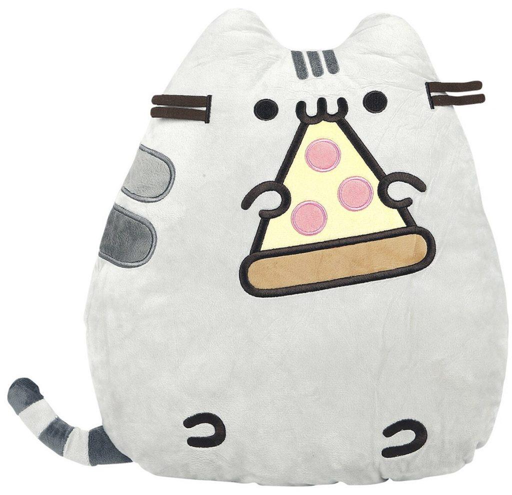 pusheen pizza pillow