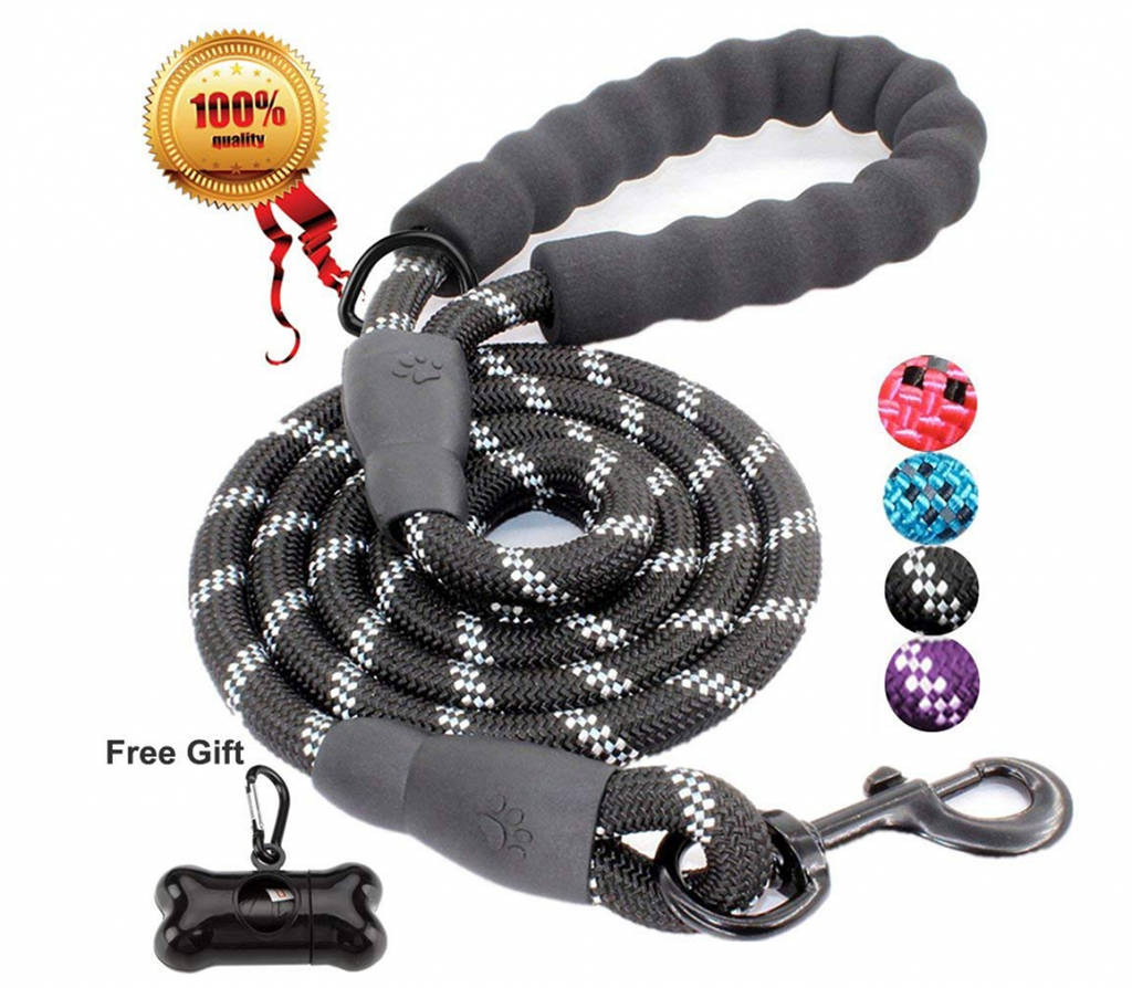 Strong Dog Lead with Comfortable Padded Handle - Top Pet Gifts