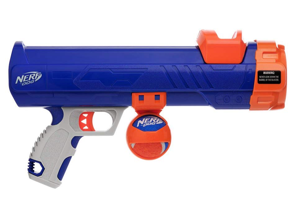 Nerf Dog Tennis Ball Blaster Toy  - Top Pet Gifts