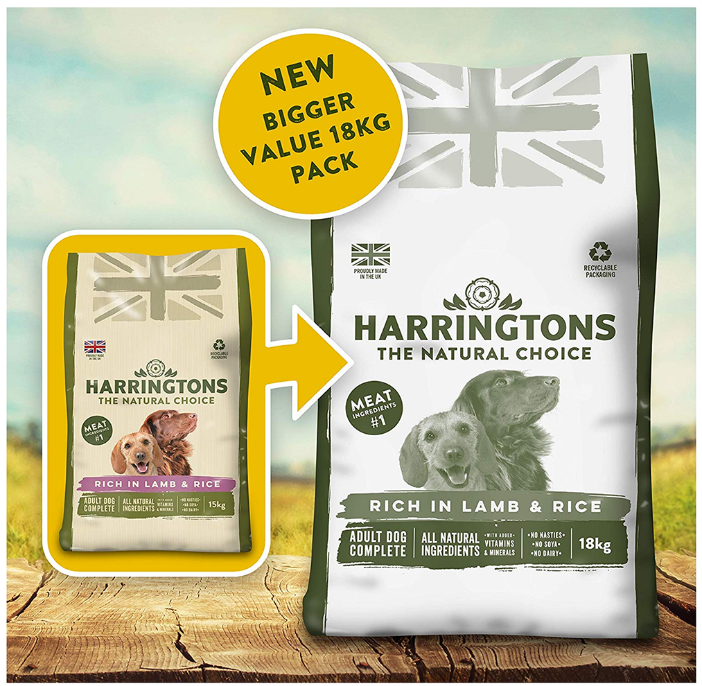 Harringtons Lamb and Rice, 18 kg - Amazon Top Pet Buys