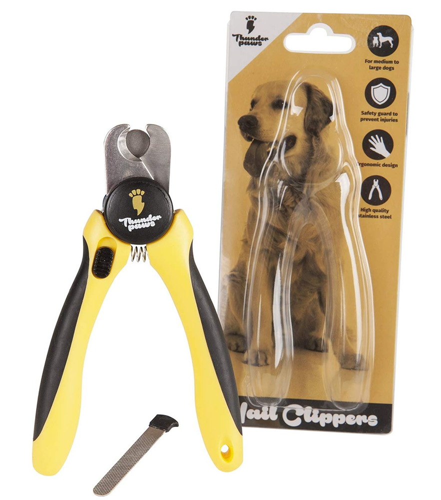 Professional-Grade Dog Nail Clippers by Thunderpaws