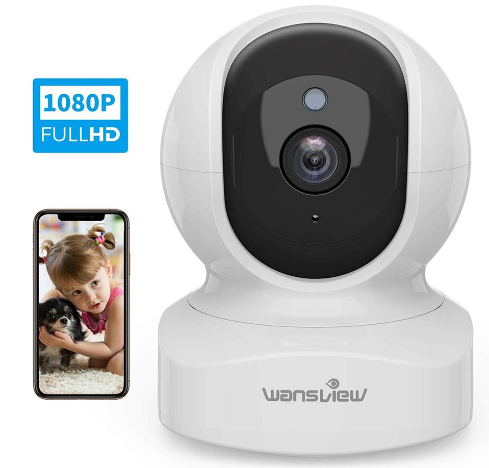 Wansview WiFi IP Camera - pet web cam