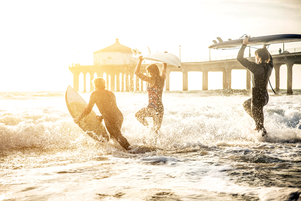 Surfing on the Bucket List Family Holidays