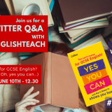 Live Twitter Q&A – win £60 Spotify and BOOKS!