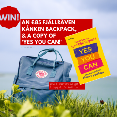 Win an £85 Fjällräven Kånken backpack, plus 'Yes You Can' GCSE book