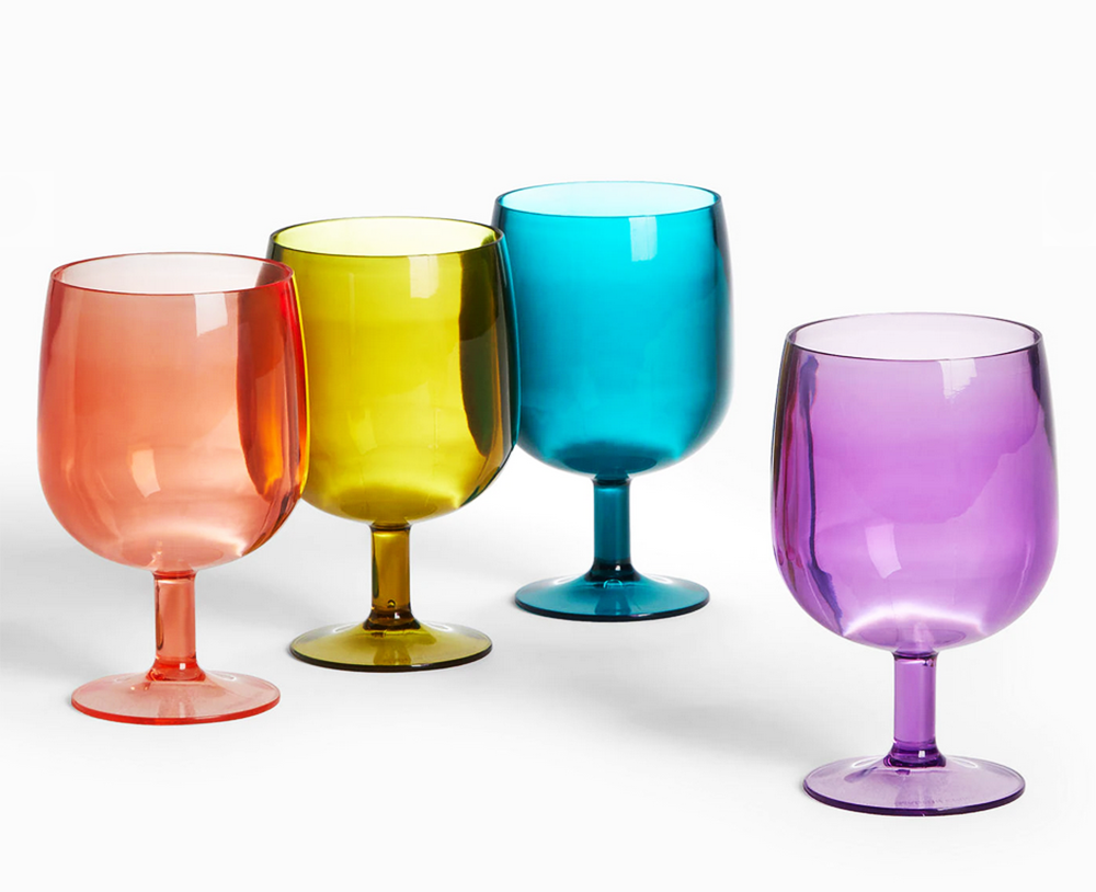 gorgeous picnicware  stackable wine cups