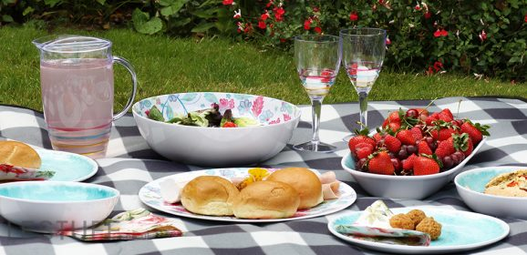 Garden Picnic? Lunch al Fresco? We've the plates for you…