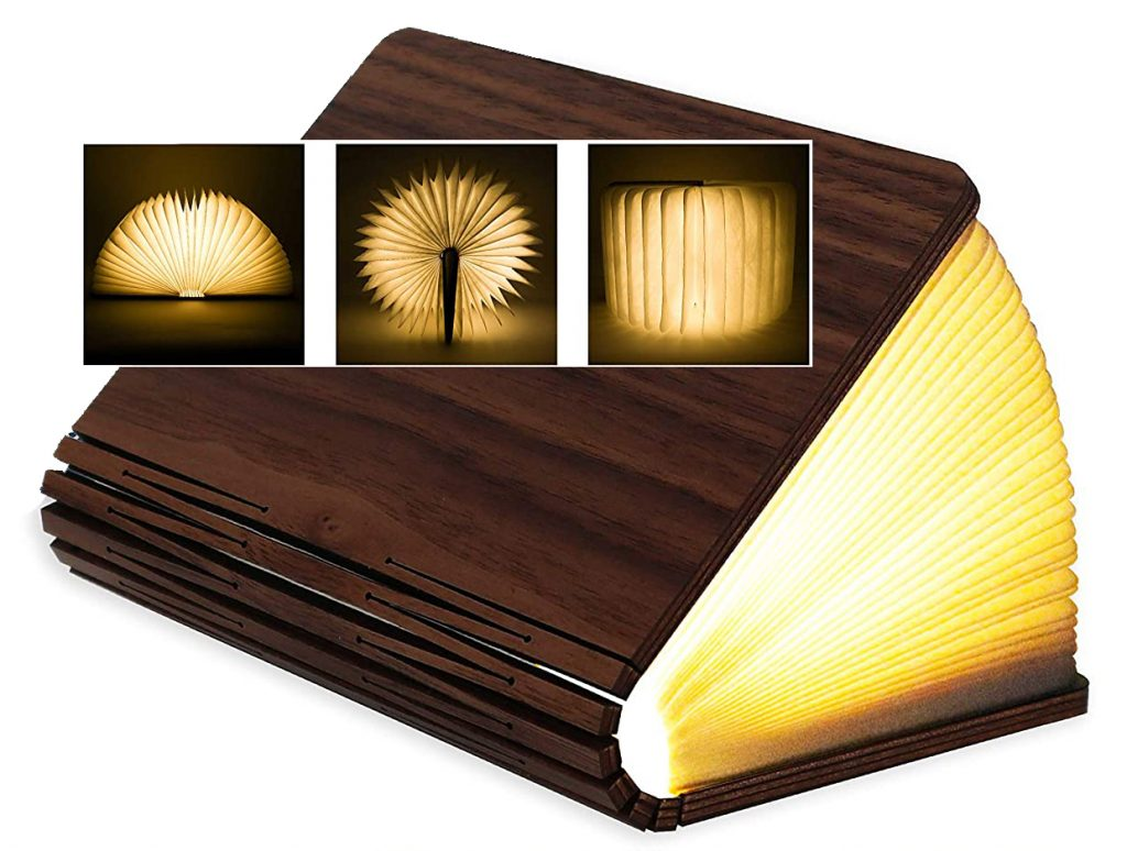 wooden book Lamps for a Teenager's Bedroom