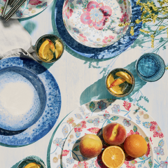 Gorgeous Al Fresco Dining – Melamine Bargains From The Supermarket. YES, Really.
