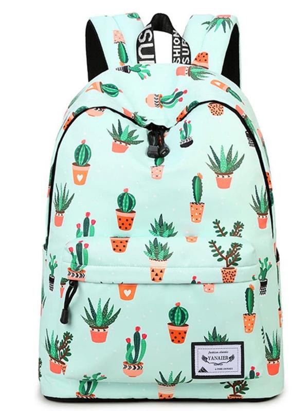 YANAIER Waterproof School Backpack