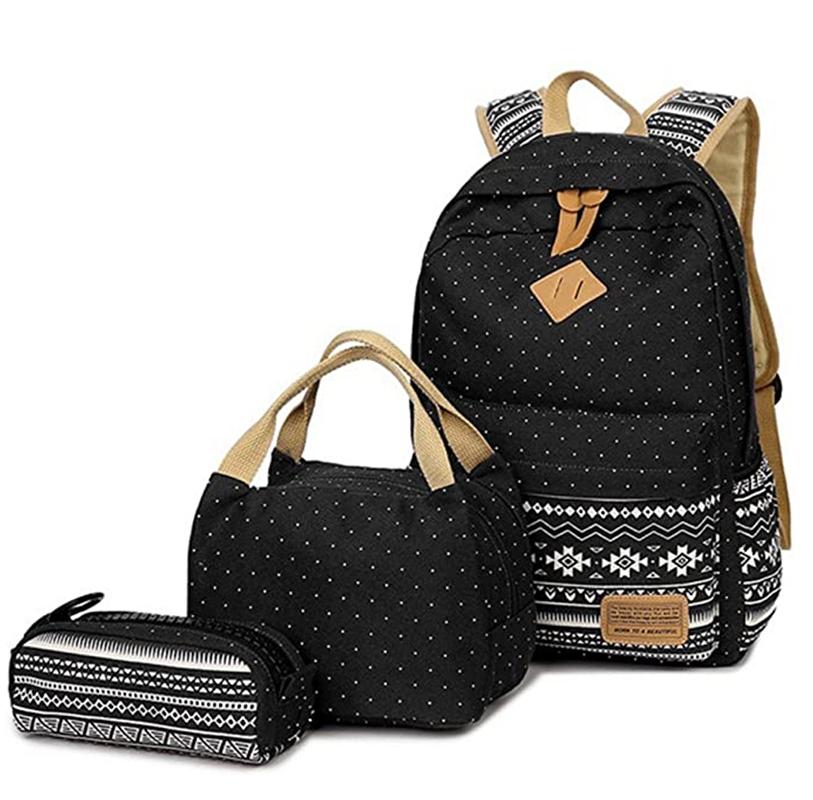 School Bags Backpack Set