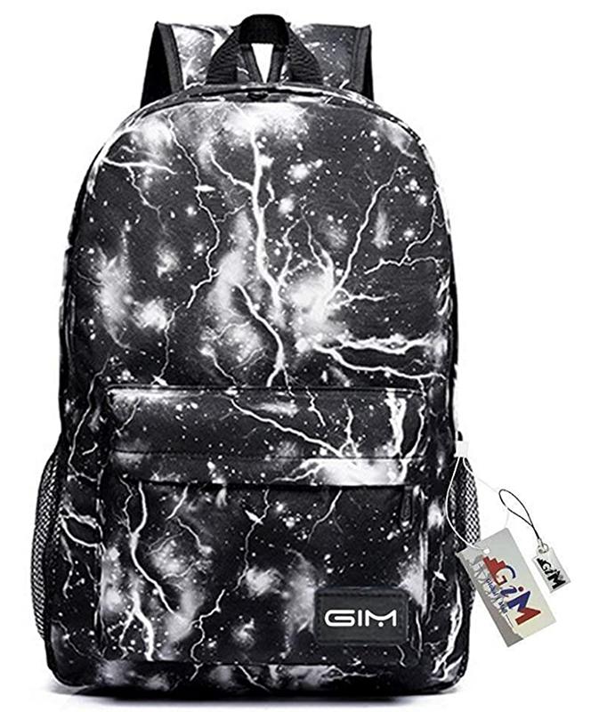 Backpack Bags Galaxy Sky