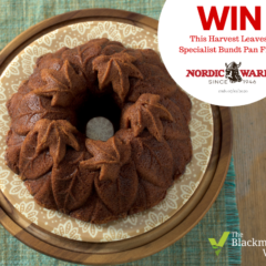 WIN a £42 Nordic Ware Harvest Leaves Bundt Pan
