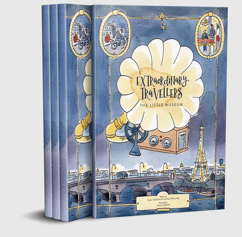Extraordinary Travellers adventure series Little Museum book
